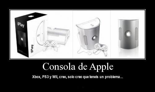 consola videojuegos apple