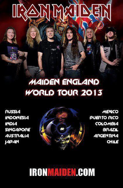 Iron Maiden Gira 2013