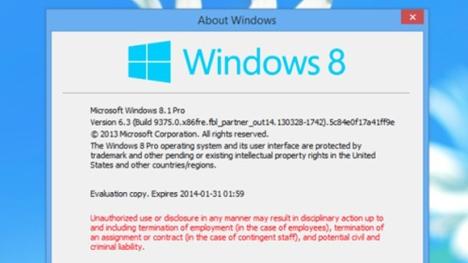 8.1 de Windows