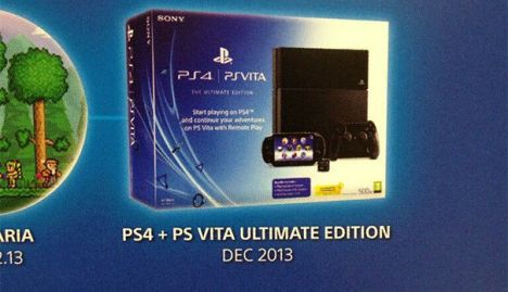 PlayStation 4  PS Vita Ultimate Edition