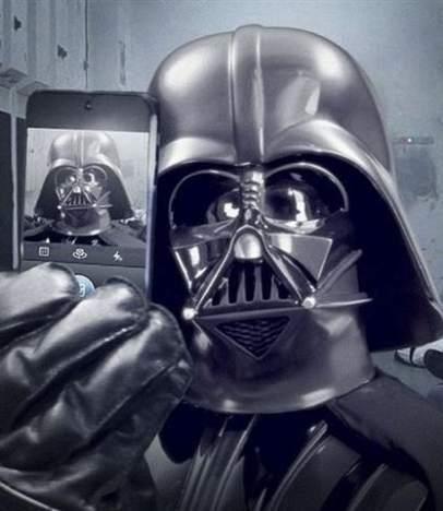 Darth Vader Instagram