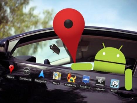 controlar los coches con Android