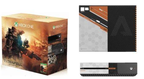 Xbox One blanca Titanfall