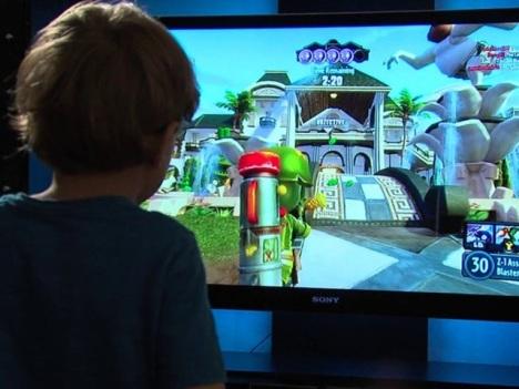 Boy Playing Xbox