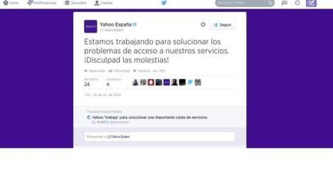 Twitter de Yahoo España