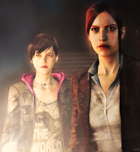Claire Redfield & Moira Burton